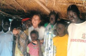 Fran Boyle, an Epiphany supported ministry works in South Sudan.